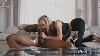 Busty Brandi Love Rides Big BLACK DICK YEAAAH