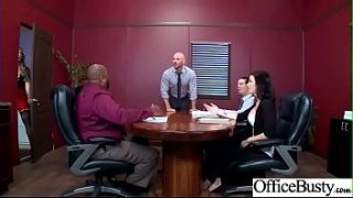(Nicole Aniston) Hot Sexy Girl With Big Round Boobs In Sex Act In Office clip-22