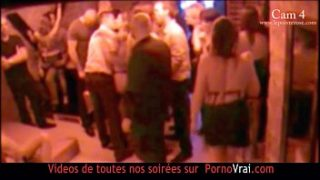 french hidden cam in a swinger club part 4